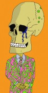Skull with Snazzy Suit